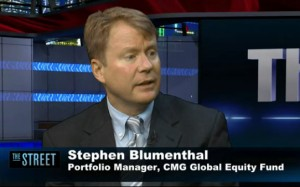 Stephen Blumenthal, CMG Capital Management Group, theStreet