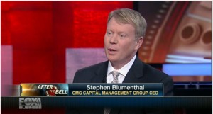 Stephen Blumenthal, CEO,