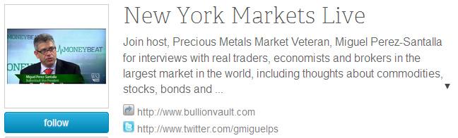 Miguel Perez-Santalla, New York Markets Live