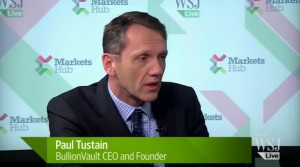 Paul Tustain, CEO, BillionVault, WSJ Live
